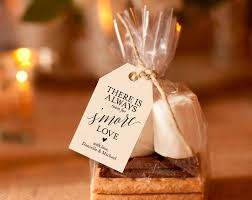 smores wedding favors s more tags s more sign wedding printable