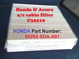 2014 honda accord filter for honda accord cabin air filter acura civic crv odyssey c35519