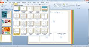powerpoint 2010 photo album template create and share a photo