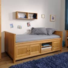 Kid Bed Frame Bed With Drawers Buythebutchercover