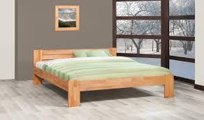 chambre en pin massif pas cher lit design en hêtre massif nature lit contemporain 2 places en