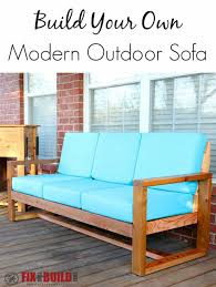 Outdoor Sofa Bed How To Build A Diy Modern Outdoor Sofa Fixthisbuildthat