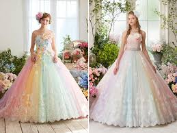 color wedding dresses best 25 pastel wedding dresses ideas on wedding