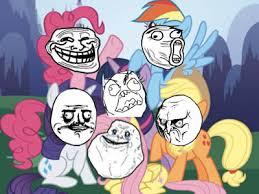 My Little Ponies Meme - my little pony meme faces by inukoga1 on deviantart