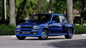 renault 5 turbo 1980 renault series 1 r5 turbo s124 monterey 2014