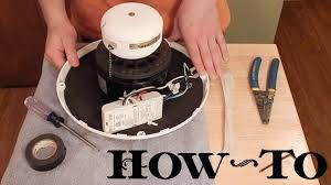 add remote to ceiling fan how to install ceiling fan remote receiver in motor housing youtube