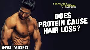 Reasons For Sudden Hair Loss Does Protein Cause Hair Loss Guru Mann Health And Fitness Hd