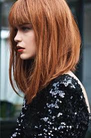 Frisurentrends Lange Haare by Frisuren Schräger Pony Lange Haare Frisure Mode
