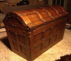 free toy treasure chest plans how to build pirate treasure