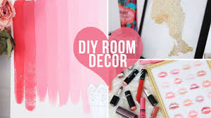 how to make handmade crafts for home decoration 3 easy room decor wall art diys laurdiy youtube