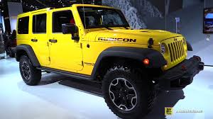 types of jeeps 2015 2015 jeep wrangler rubicon hard rock exterior and interior
