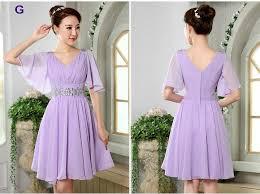 light purple short dress new light purple short chiffon bridesmaid dresses lf220 ella