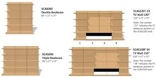 cassia modular wall unit five elements furniture