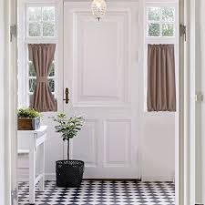 Blackout Door Curtains Aquazolax Blackout Door Curtain Window Treatment Drapes Privacy Sing