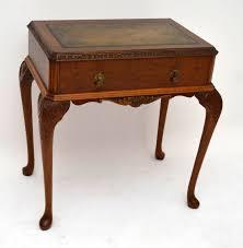 Kleiner Holz Schreibtisch Side Table Kleiner Schreibtisch Antik