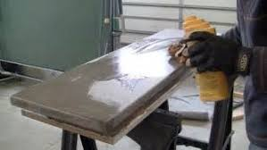 How To Make A Concrete Table by Build A Concrete Table Myroomdecor