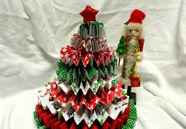 how to make a paper rosette christmas tree youtube