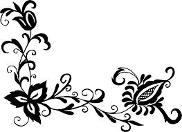 corner pattern png 18 flower corner vector png transparent svg onlygfx com