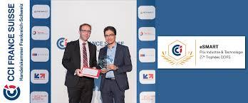 chambre de commerce franco suisse trophée industrie et technologie du commerce suisse 2016