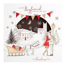 boyfriend christmas card amazon co uk
