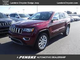 suv jeep 2017 new jeep grand cherokee at landers serving little rock benton