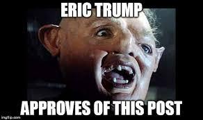 Eric Meme - eric trump imgflip