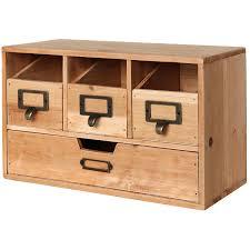 Rustic Wooden Desk Tables Rustic Brown Wood Desktop Office Organizer Drawers Four