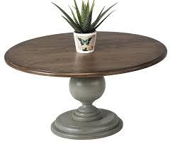 Pedestal Coffee Table Lark Manor Serpentaire Pedestal Coffee Table Reviews Wayfair