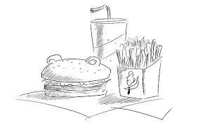 conan vs bear fast food metaly fled