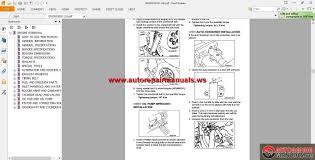 mitsubishi grandis 2008 workshop manual auto repair manual forum