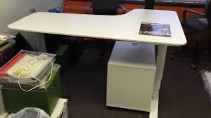 Standing Height Desk Ikea by Ikea Bekant Sit Stand Desk Assembly Service In Dc Md Va By