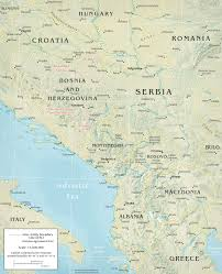 Map Of Central Europe by Balkan Region Hungary Greece Travel Europe