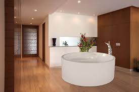 Stone Floor Bathroom - bathroom dazzling oval shape drop in bathtub idea with black