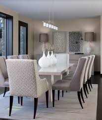 Dining Room Pendant Lights Contemporary Dining Room With Pendant Light U0026 Concrete Floors