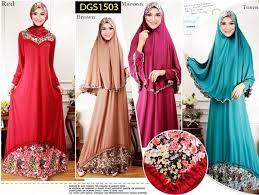Baju Muslim Dewasa Ukuran Kecil baju tanah abang jakarta model terbaru fashion terkini