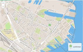 Boston Hubway Map by Charlestown Hubway Boston Ma