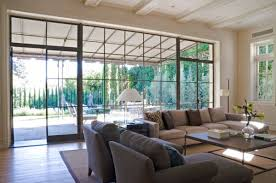livingroom windows how to decorate a living room with large windows