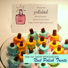 show your teacher appreciation with nail polish treats brie brie
