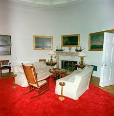 oval office redecoration st c416 2 63 redecorated oval office with president john f