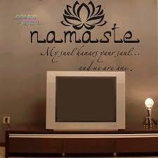 Wall Decals Vinyl Sticker Mandala by Wall Decals Quotes Vinyl Sticker Decal Buddha Quote Namaste Yoga