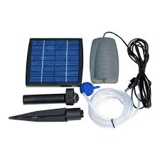Home Depot Water Pump Solarrific Solar Air Pump Kit For Fish Pond G3035 The Home Depot