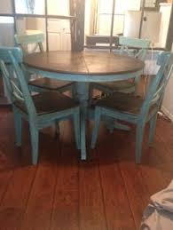 Kitchen Table Refinishing Ideas Pictures Stained The Table Top - Painting a kitchen table