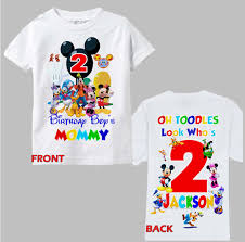 mickey mouse birthday shirt mickey mouse clubhouse birthday shirt mickey mouse