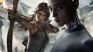 Alicia Vikander Robot Movie by Tomb Raider New Lara Croft Actress Alicia Vikander Used To Play