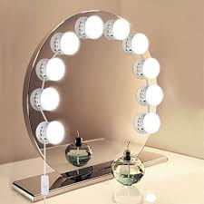 hollywood mirror with light bulbs vanity mirror lights unifun hollywood style makeup mirror led