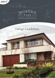 design guidelines the gables park design guidelines
