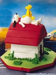 birthday cake snoopy cakes dessert recipes pinterest snoopy