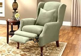 slipcover for recliner chair recliner slip covers jayhaze org