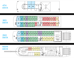 Cruise Ship Floor Plans Cruise Aboard Queen Of The West