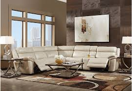 Power Sectional Sofa Guide To Shopping For Leather Sectionals From Rooms To Go